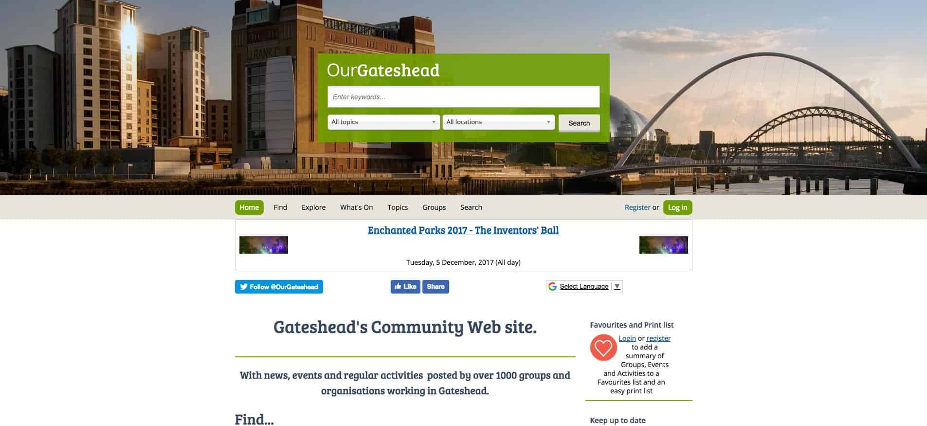 Our Gateshead