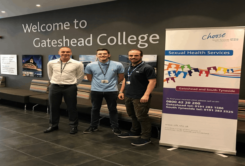 Working in partnership with Gateshead College