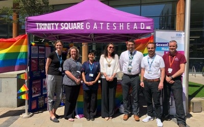 Gateshead Sexual Health's Pride Month