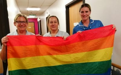 Gateshead Sexual Health supporting Pride Month 2019